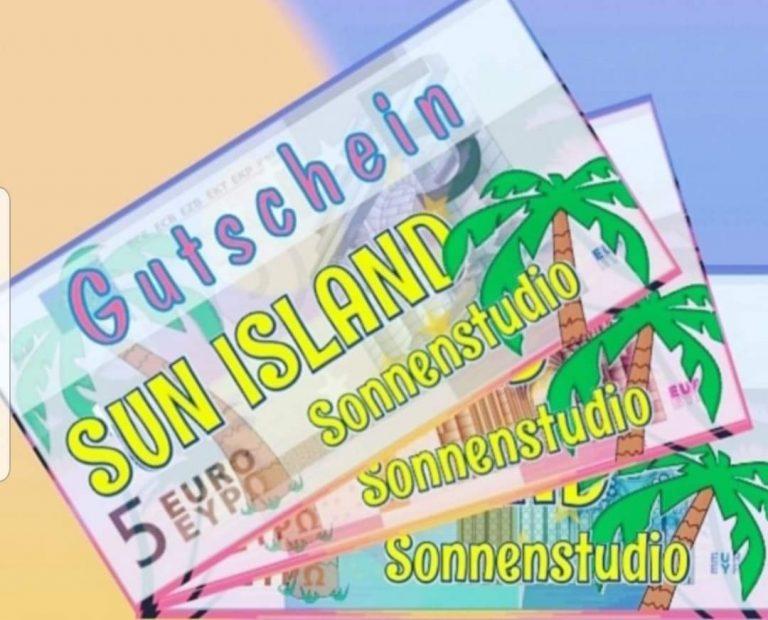Sun Island Sonnenstudio Gutschein